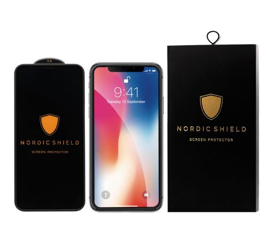 Nordic Shield Silicone edge iPhone X/XS/11 Pro blister produktbillede