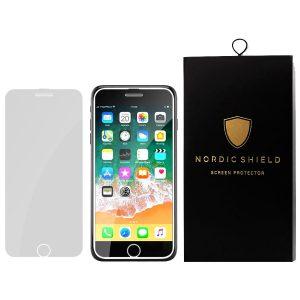 Nordic Shield Full Cover panserglas iPhone 6/7/8 hvid blister