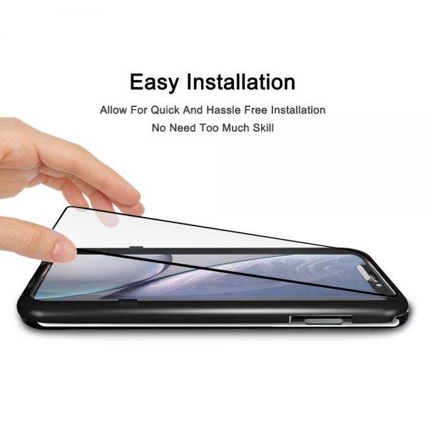 Monteringsramme Nordic Shield iPhone XR/11 panserglas