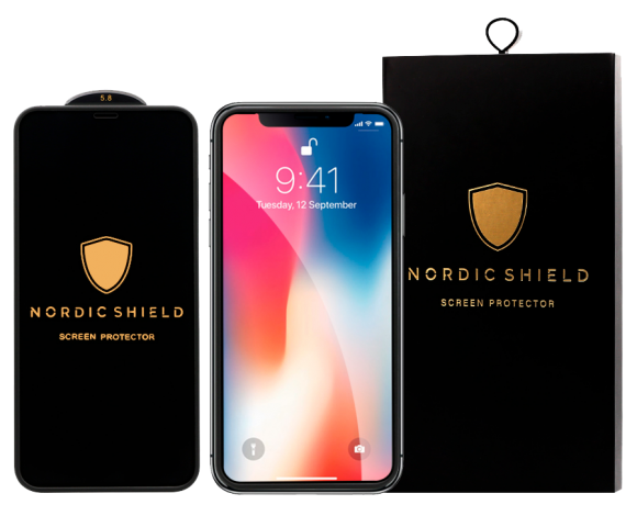 Nordic Shield Full Cover Silicone Edge blister transparent