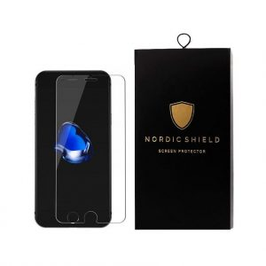 Nordic Shield iPhone 6 standard fit clear panserglas blister
